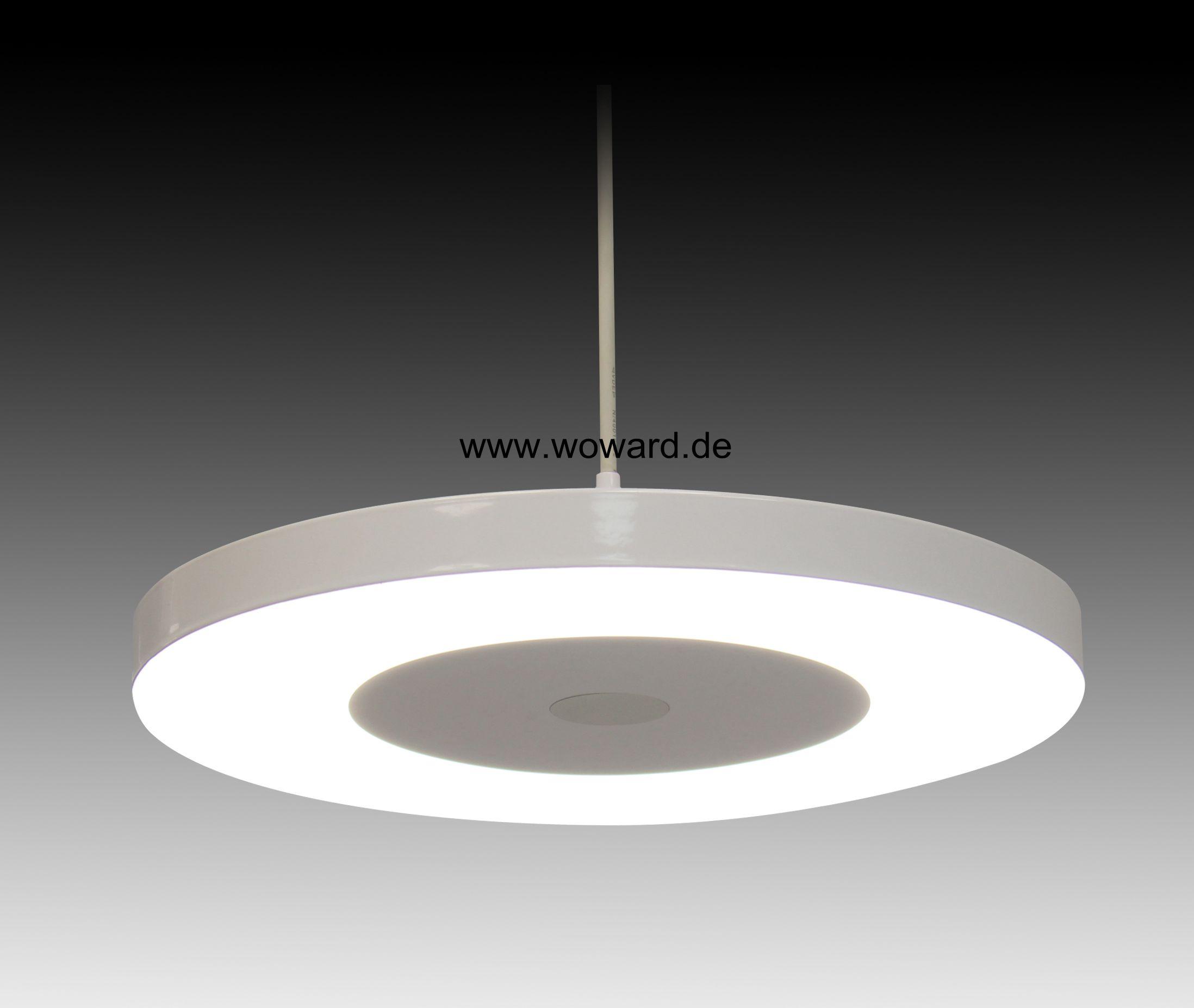 Led h nge 30w deckenlampe leuchte pendel wo 013 30w for Deckenlampe viereckig