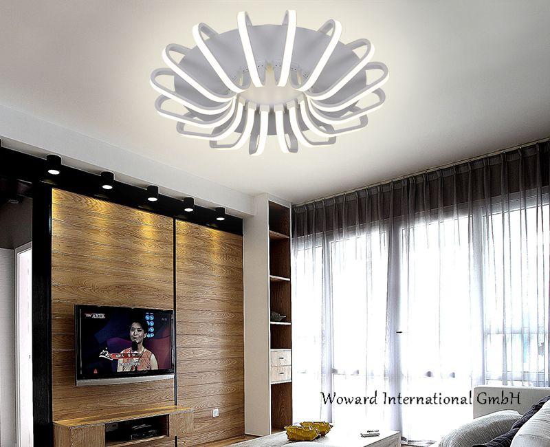 led deckenlampe deckenleuchten wow 7683 serien 72w dimmbar. Black Bedroom Furniture Sets. Home Design Ideas