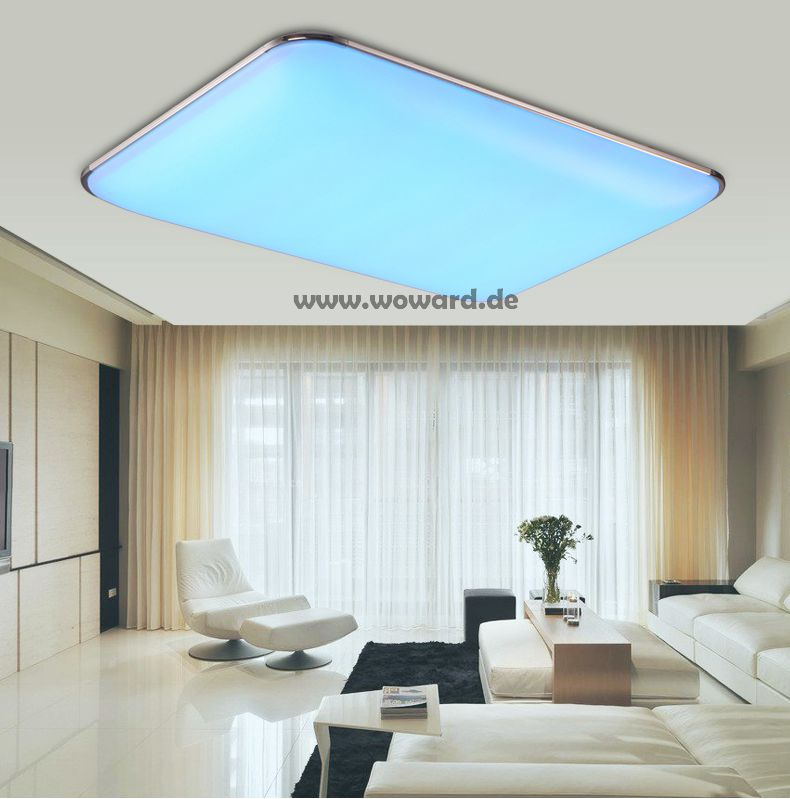 rgb farbwechsel led deckenlampe 30w 72w 90w wandlampe lampe fernbedienung w400r ebay. Black Bedroom Furniture Sets. Home Design Ideas