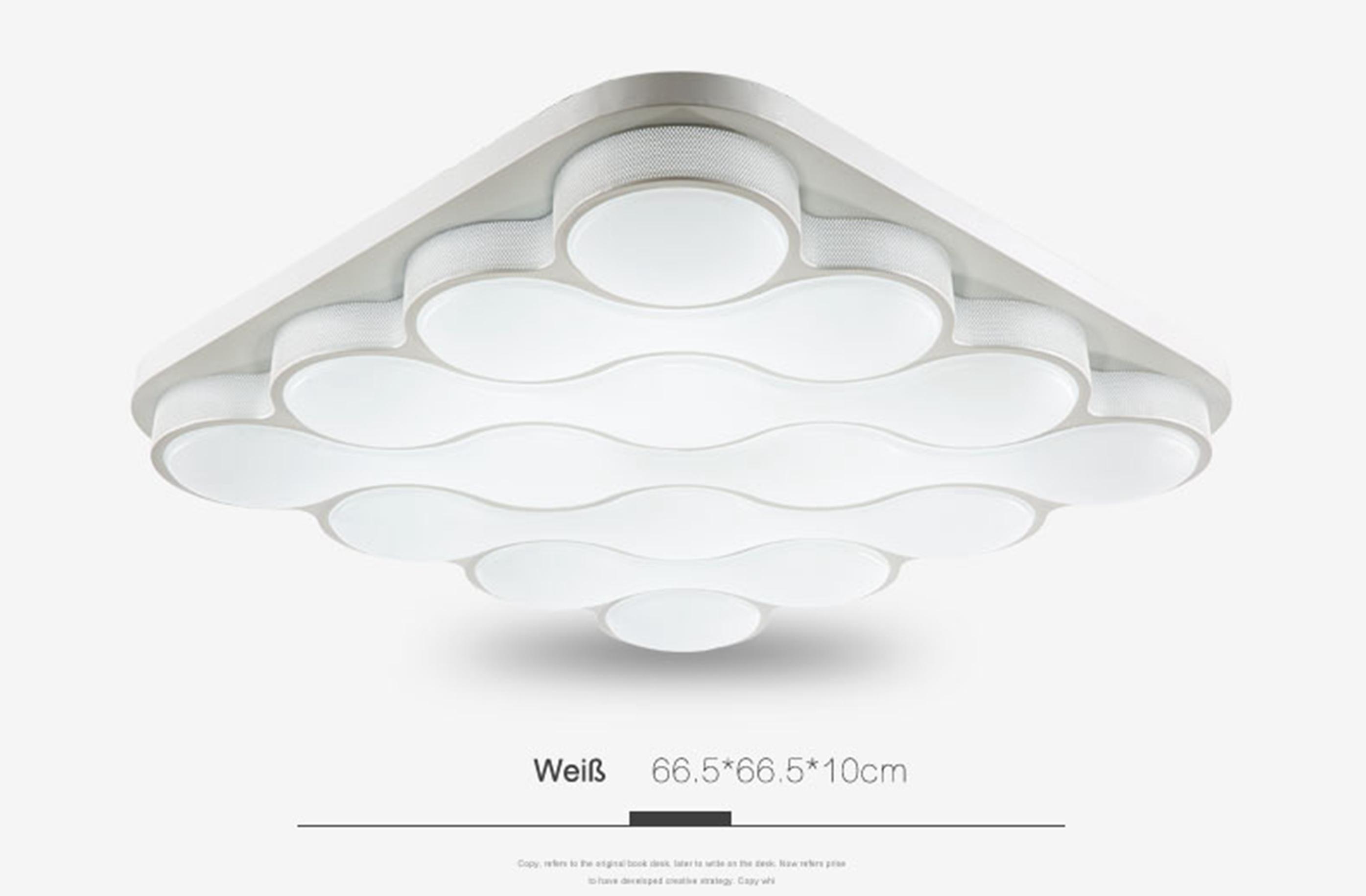 led deckenlampe deckenleuchten 24w 54w wandlampe p500 dimmbar beleuchtung lampe ebay. Black Bedroom Furniture Sets. Home Design Ideas