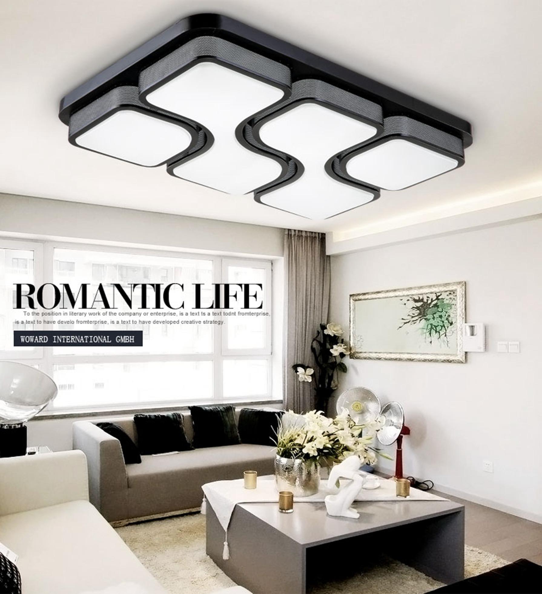 deckenleuchten wohnzimmer wien, dimmbar led deckenlampe deckenleuchten 24w-126w w800 wandlampe, Design ideen