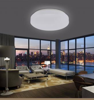 Woward 28W LED Deckenlampe Bad Küche Beleuchtung WOW-RK-4228 | Lichtfarbe:  kaltweiß